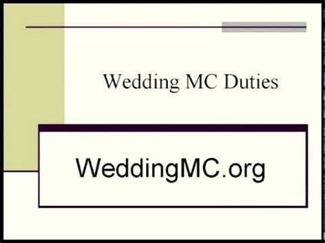 The Order of Wedding Speeches - pamblackweddingscom